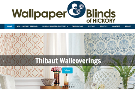 Wallpaper & Blinds of Hickory